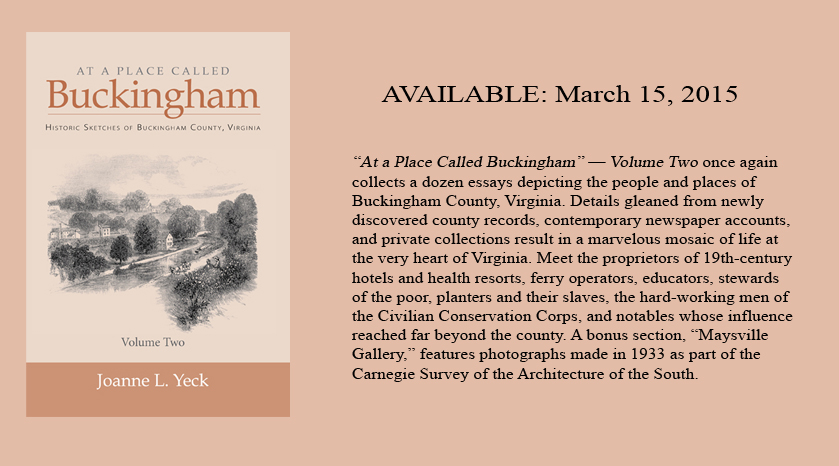 Buckingham  Two_Available March 15